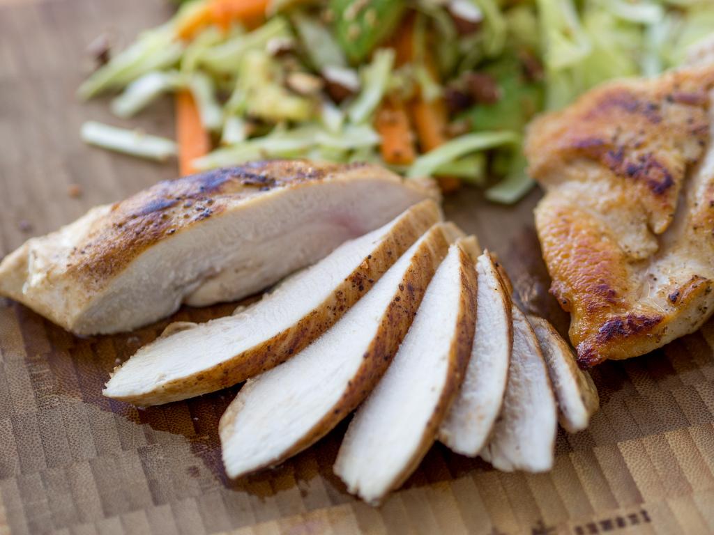 kyllingebryst i ovn tid