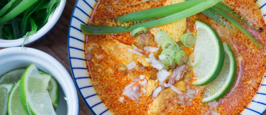 Chiang Mai Curry Noodles (Kao Soi)