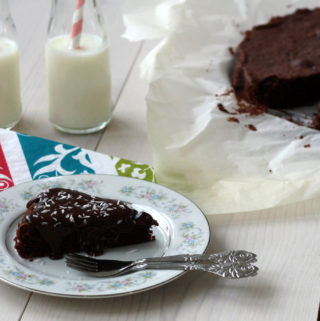 Gammeldags chokoladekage (20 minutter)