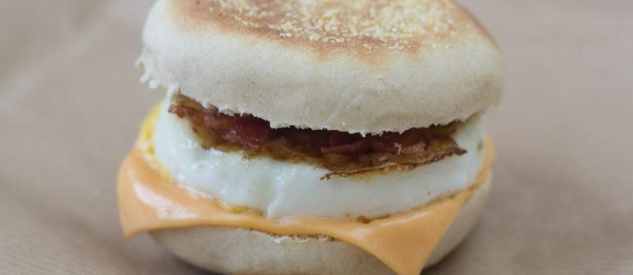 Hjemmelavet Egg McMuffin