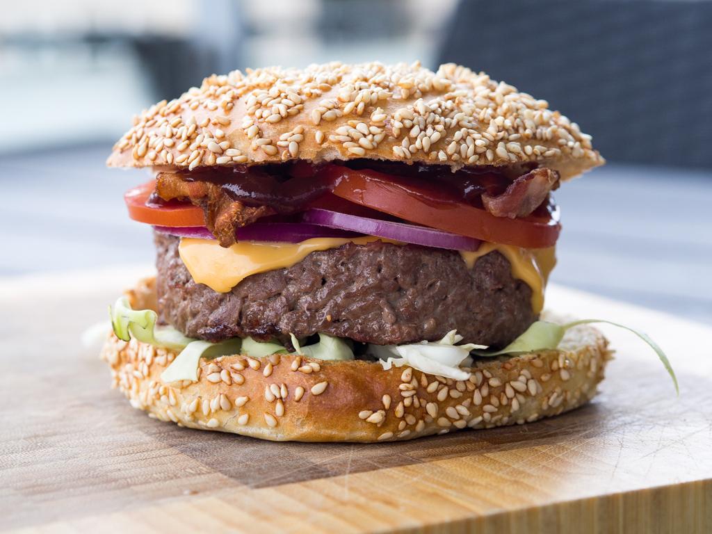 fyldte burgerbøffer