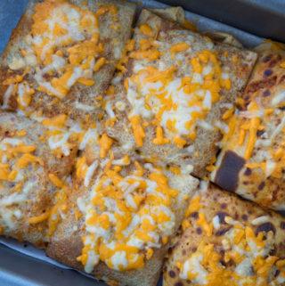 Fyldte pandekager med chili og oksekød