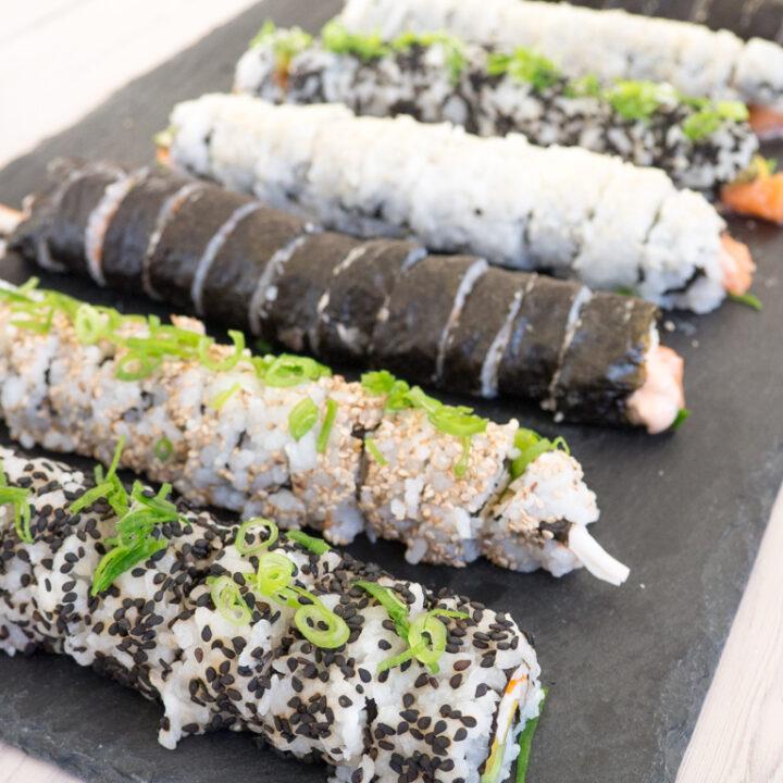 Opskrift på Hjemmelavet Sushi