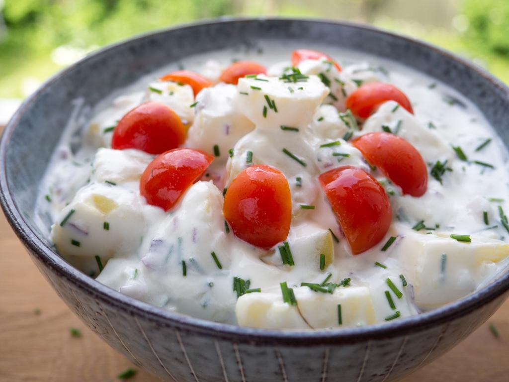 Kold Kartoffelsalat Lækker Og Meget Nem Opskrift På Kold