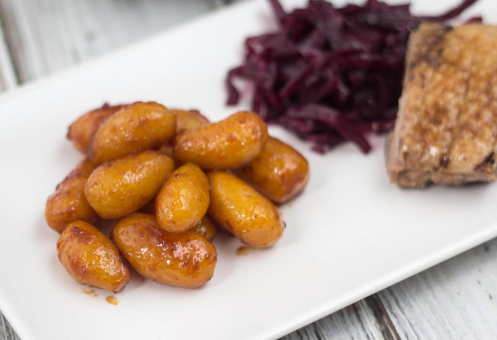 Opskrift på hjemmelavede brunkartofler