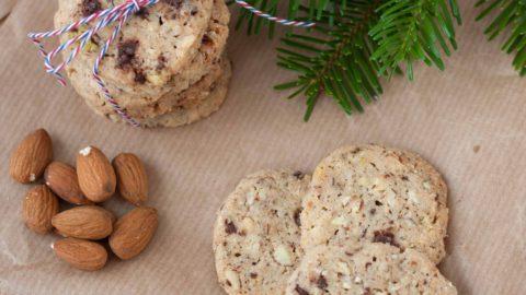 småkager chokolade nødder
