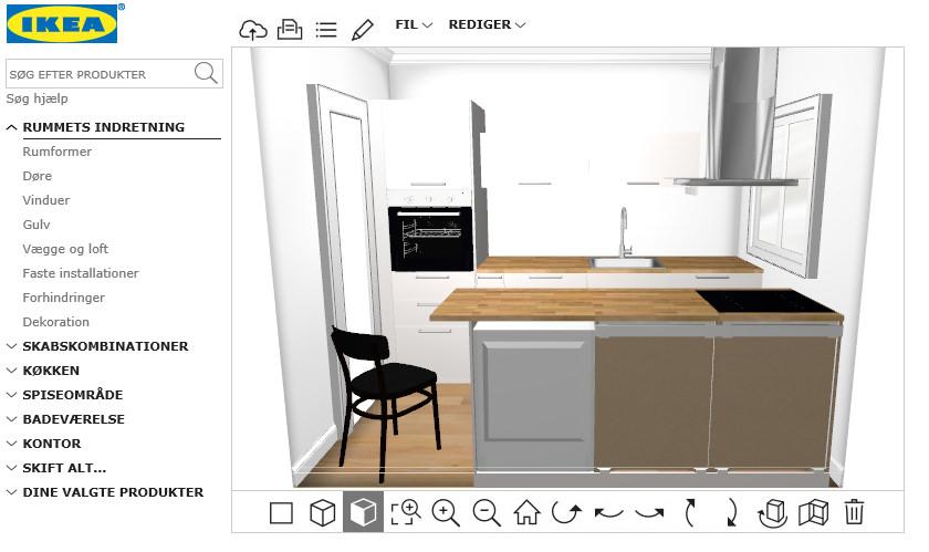 Montering af IKEA køkken