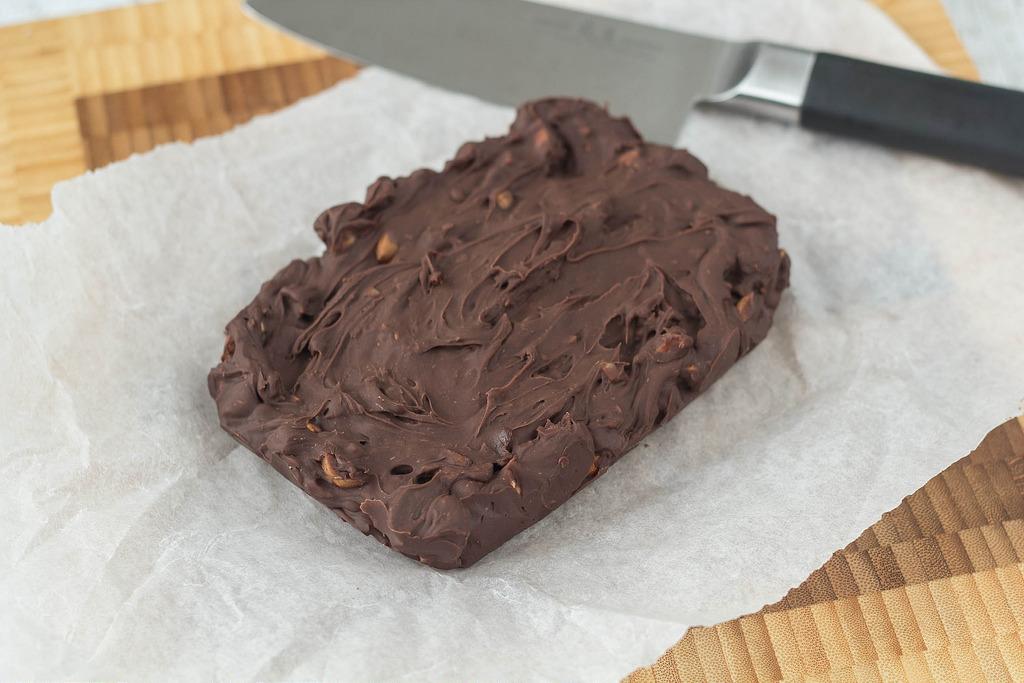Opskrift på Hjemmelavede chokoladefudge