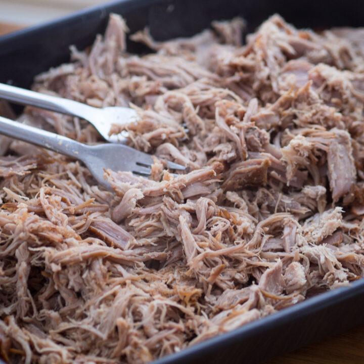 Opskrift på Pulled Pork i Sous Vide (hjemmelavet pulled pork i sous vide)