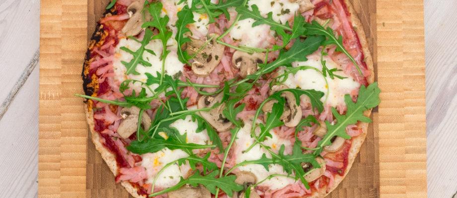 Sund Pizza på Tortilla (15 minutter)