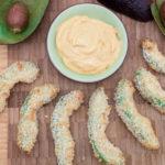 Nem opskrift på sprøde avocadopomfritter