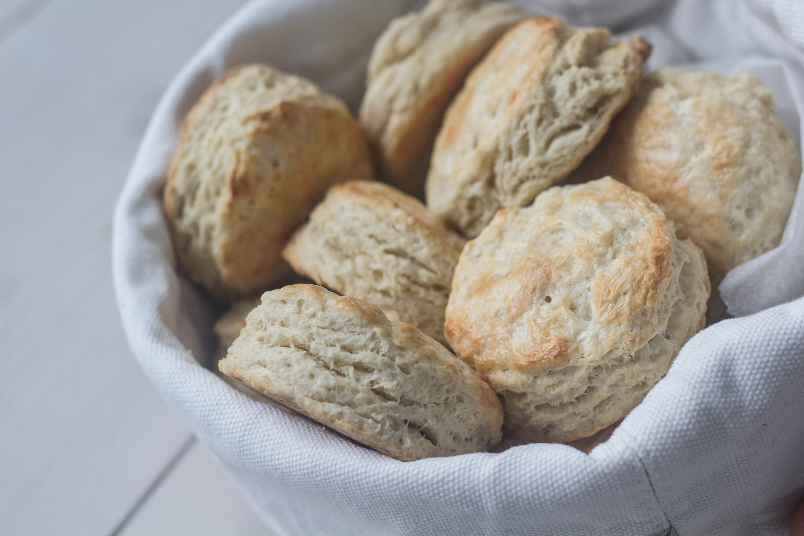 Opskrift på Amerikanske Buttermilk Biscuits
