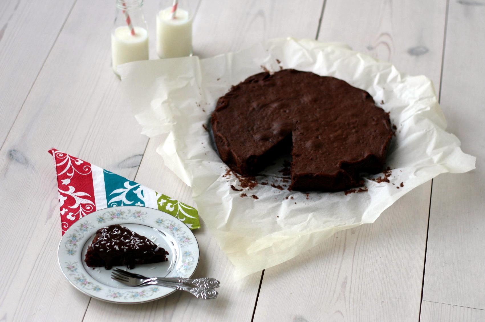 Opskrift på Chokoladekage - hjemmelavet chokoladekage