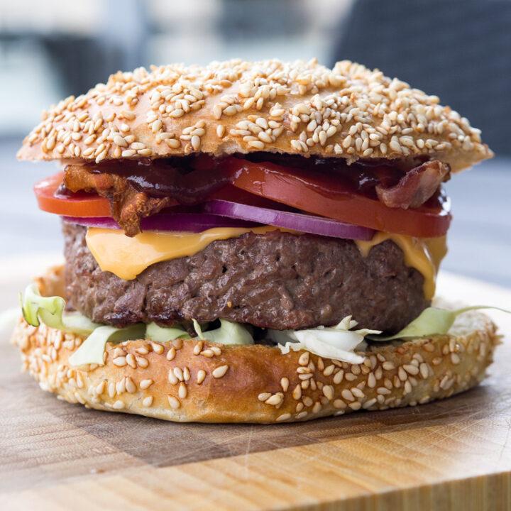 Opskrift på burgerbøffer sous vide