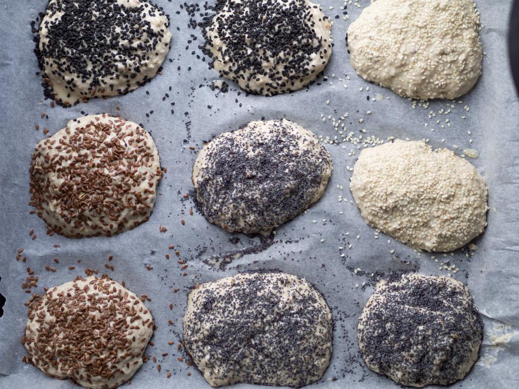 Opskrift på koldhævede morgenboller (Hjemmelavet koldhævede morgenboller)