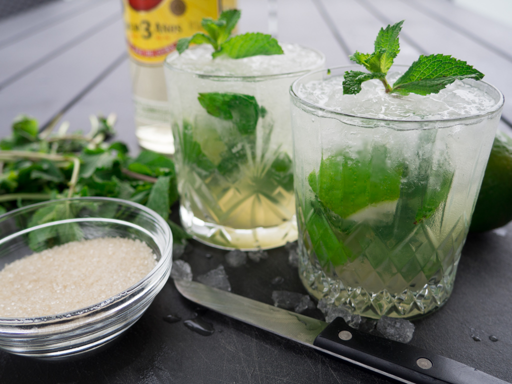 Opskrift på mojito (Hjemmelavet mojito)