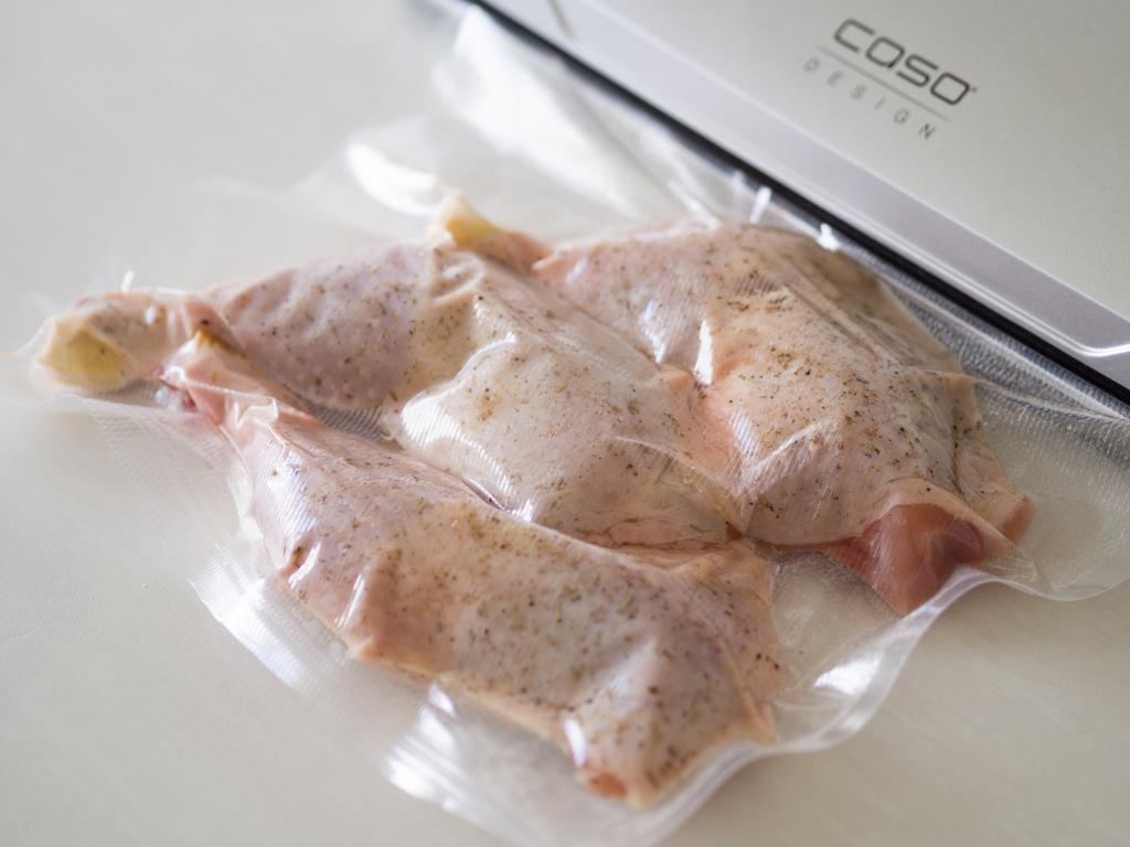 Opskrift på Kyllingelår i Sous Vide