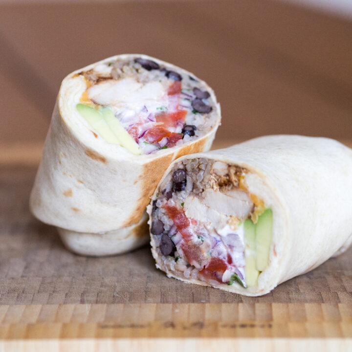 Opskrift på Burrito (hjemmelavet Burrito)