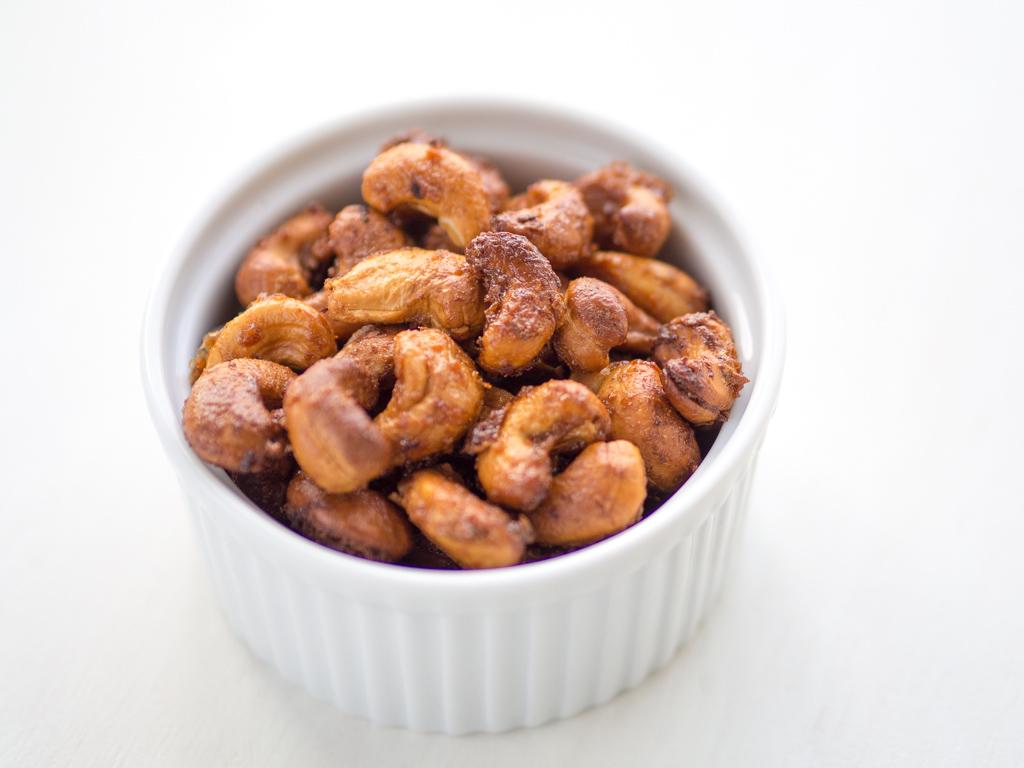 Opskrift på Cashew nødder med lime og chili