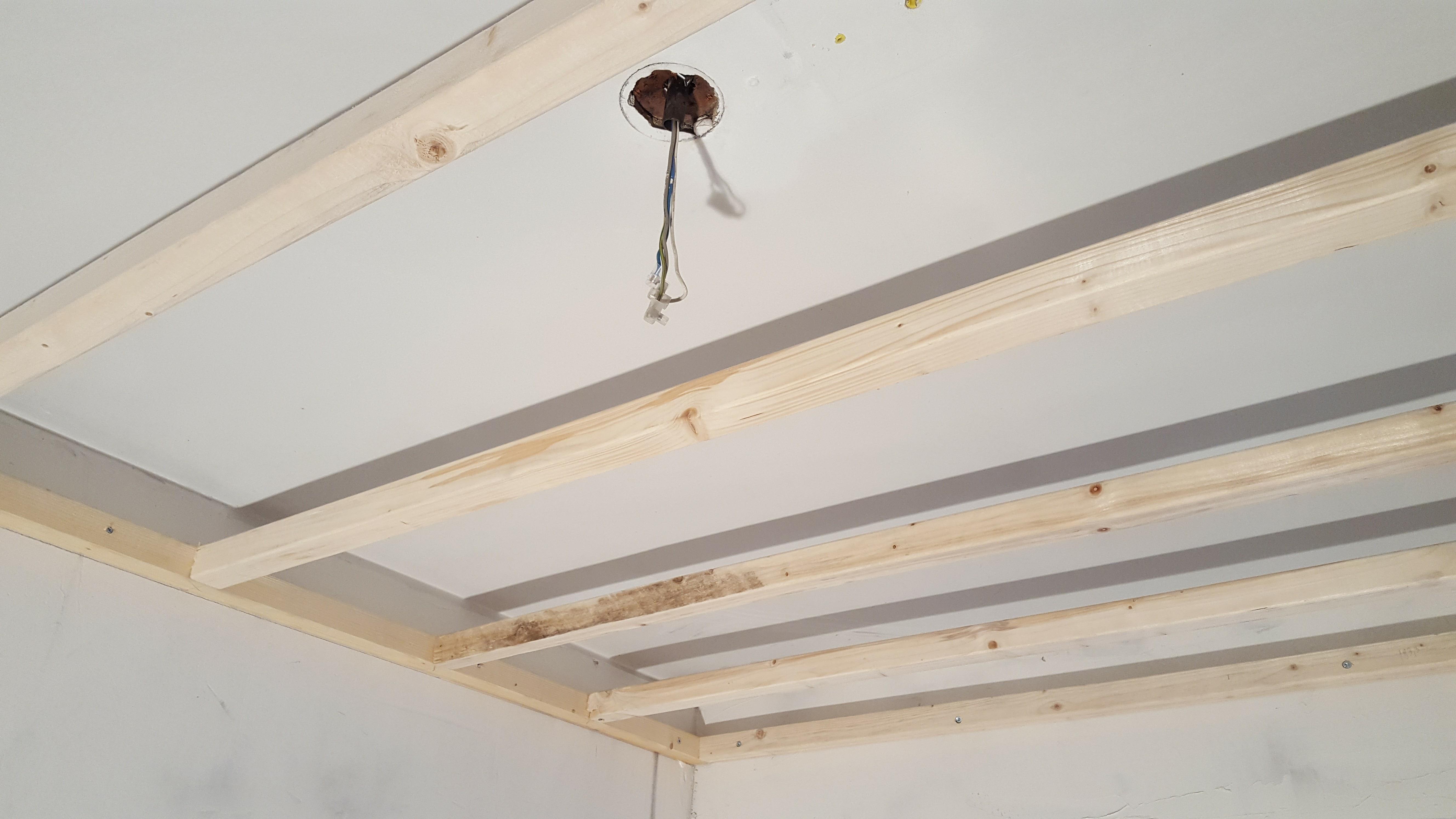 Storslået Komplet guide: Sådan laves et nedsænket loft med LED spots IT01