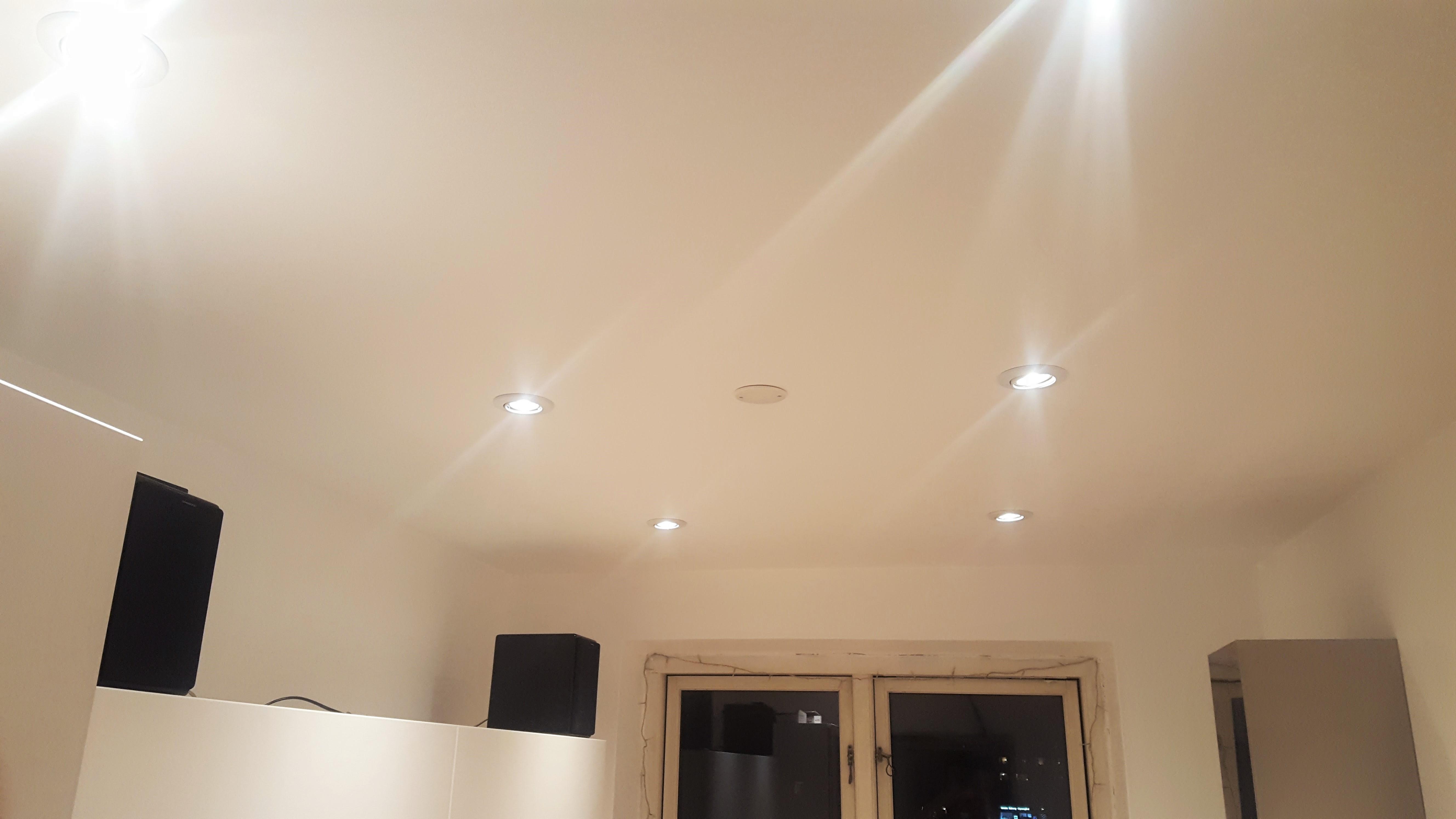 Oprindeligt Komplet guide: Sådan laves et nedsænket loft med LED spots MP99