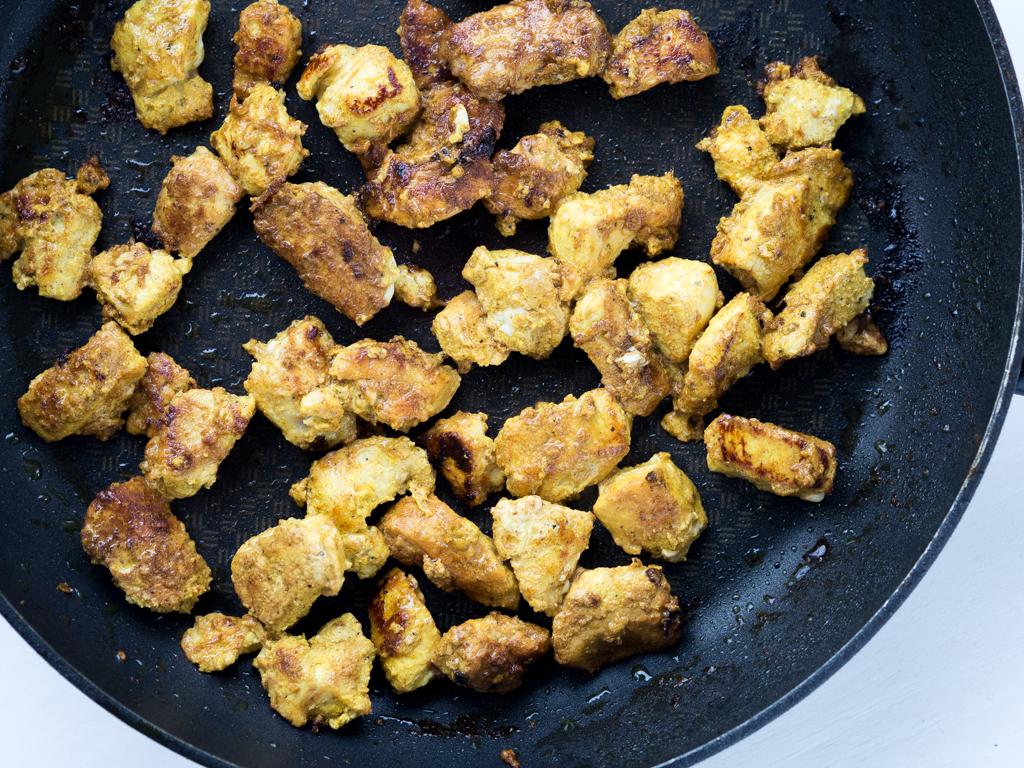 Nem opskrift på Chicken Tikka Masala