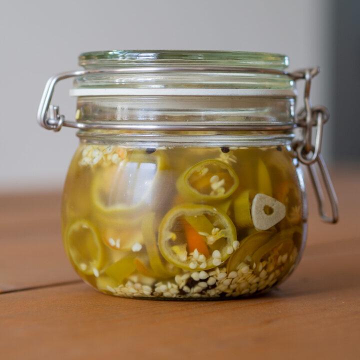 Opskrift på den bedste syltede jalapeno